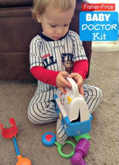 Fisher Price Baby Doctor Kit Toy