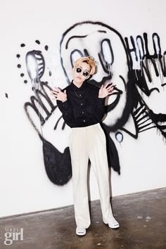 T - Vogue Girl Magazine March Issue Zion T, Girl Korea, Girls Magazine, Hip Hop And R&b, Poses For Men, Music Magazines, Jackson, Korean Star, Indie Music