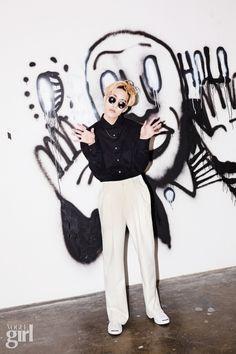 Zion.T - Vogue Girl Korea March 2015