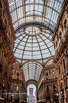 Milán. Galería de Victor Manuel II. ~ Compartir experiencias y fotos
