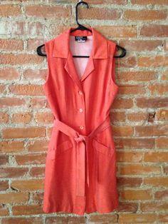 Dawn Joy Vintage Shirt Dress by InTheRoughFashion on Etsy