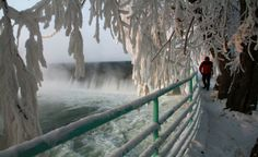 Doğu Anadolu'dan kartpostallık kar manzaraları-Murat Nehri, Muş
