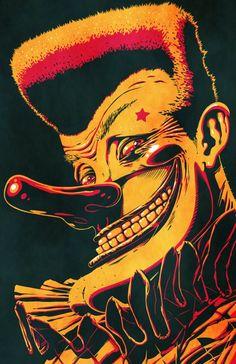 RAFA HU ; Portraits 1; The Clown