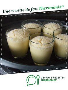 Flan coco au varoma par mamina17. Une recette de fan à retrouver dans la catégorie Desserts & Confiseries sur www.espace-recettes.fr, de Thermomix®.