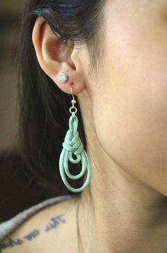 DIY earrings.