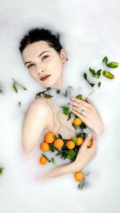 Oranges. Cute.