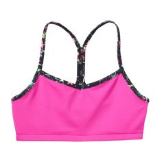 Girls 7-16 & Plus Size SO® Racerback Bralette, Girl's, Size: 10, Brt Pink