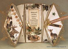 Odette's kaartenhoekje: Studio Light workshopdag bij Hobbyvision. Fancy Fold Cards, Folded Cards, I Card, Christmas Cards, Gift Wrapping, Scrapbook, Shapes, Card Crafts, Xmas Greeting Cards