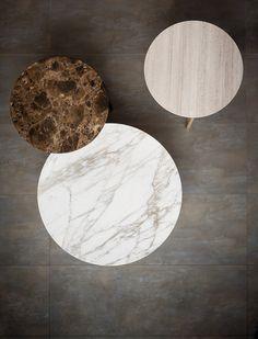 Marble coffee table Iko Collection by Flou | design Rodolfo Dordoni @flouspa
