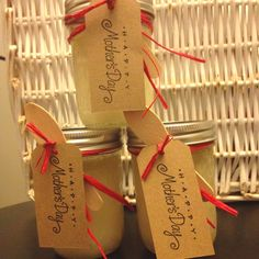 Lemon Sugar Hand Scrub. Made these as Mothers Day favors.  2 cup sugar 1 cup oil 4 Tbls lemon juice