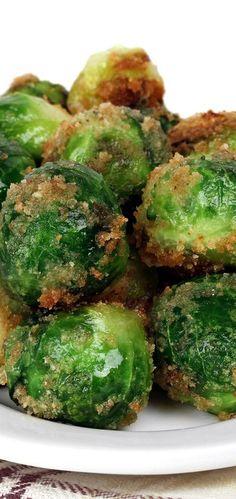 Weight Watchers Friendly Parmesan Breaded Brussels Sprouts Recipe - 4 WW Smart Points