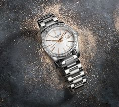 Discover the Conquest Classic stainless steel watch for men combining timeless elegance and the watchmaking expertise of Longines Rolex Watches, Watches For Men, 3 O Clock, Timeless Elegance, Bracelet Sizes, Stainless Steel Watch, Michael Kors Watch, Chronograph, Bracelet Watch