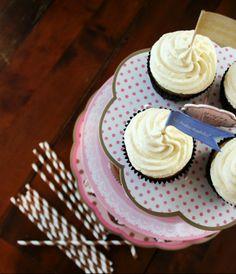 White chocolate and lemon cupcakes