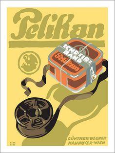 Lucian Bernhard. Pelikan typewriter ribbon | Explore kitchen… | Flickr - Photo Sharing!