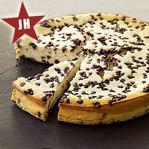 Weight Watchers Choc. Chip Cheesecake. This is so yummy. I make it in muffin tins (using cupcake liners). A spoon of cherry pie filling on top makes it even better!