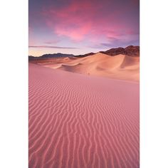 Desert Dream Ibex Sand Dunes, Death Valley National Park ❤ liked on Polyvore featuring backgrounds, pictures, art sets, photos, art and scenery
