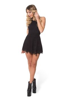 089f4fdfa7 Once Upon A Time Black Playsuit - Limited