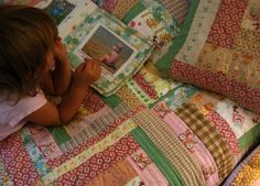 Adeilade's quilt - details