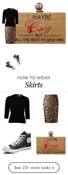 """crazy? leopard print skirt sweater and converse"" by kohlanndesigns on Polyvore featuring Altuzarra, Converse, Oscar de la Renta, converse, WhatToWear, LeopardPrint and 2016"