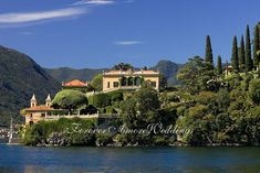 Overview Villa del Balbianello Lake Como