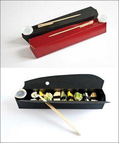FUNE – Sushi Takeaway #Packaging