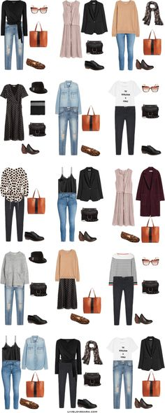 What to Pack for Bruges, Belgium Packing Light List Outfit Options 1-15