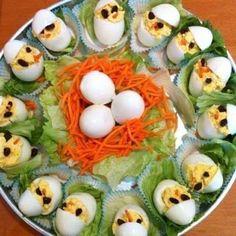 Great Appetizers, Appetizer Recipes, Easter Deviled Eggs, Dressing For Fruit Salad, Dinner Side Dishes, Homemade Pie, Easter Dinner, Easter Treats, Eat Smarter