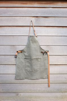 Washed Canvas Apron Dutchdeluxes