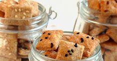 ...konyhán innen - kerten túl...: Koktél kréker Cereal, Muffin, Breakfast, Food, Morning Coffee, Muffins, Meal, Essen, Hoods