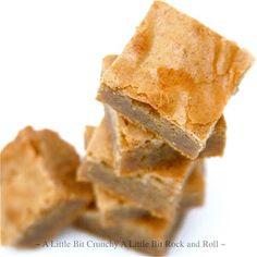 A Little Bit Crunchy A Little Bit Rock and Roll: Cinnamon Blondies