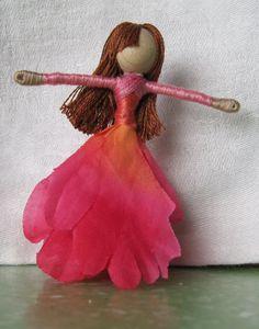 Flower Fairy PDF, doll pattern, fairy doll instructions on Etsy, $5.29 CAD