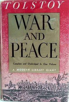 War and Peace by Leo Tolstoy... Such human characters. Too true, so tragic. Hope to read this soon.