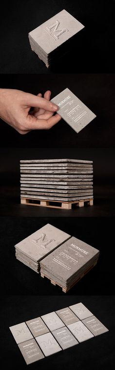 Concrete Business Card | Business Cards | The Design Inspiration