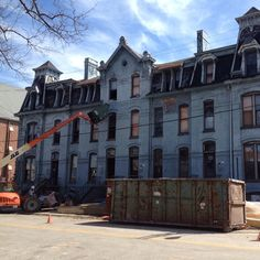 Architectural Renovators, Inc. has started work to transform Evansville's Owen Block into apartments. Many thanks to all the #Blockheads who helped make the save!