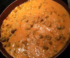 Rezept Hackfleisch Tomaten Soße Sauce von bella1979 - Rezept der Kategorie Hauptgerichte mit Fleisch