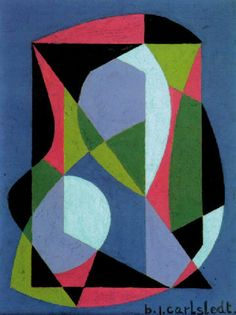 MID-CENTURIA : Art, Design and Decor from the Mid-Century and beyond: Birger Carlstedt Paintings