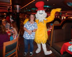 In the Shadow of the Mouse   Characters at sea: Carnival Cruise ...