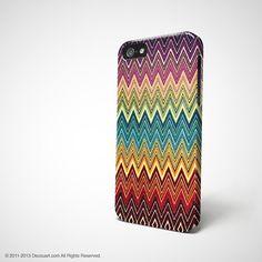 iPhone 5s case, iPhone 5 case, iPhone 4 case, iPhone 4s case, case for iPhone 4, chevron navajo pattern S287B