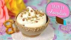 Pastel en Taza de chocolate: postre fácil y regalo ✎ Craftingeek