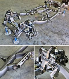 Rolling art. The @roadstershop C1 FAST TRACK chassis. See our full lineup at www.roadstershop.com #chassis #suspension #corvette #c1 #vette #c1corvette #RoadsterShop #roadstershopchassis #fabrication #weldporn #chassis #suspension #protouring #performance