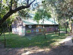 Accommodation at our South Africa monkeys programme