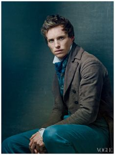 Eddie Redmayne Les Miserables Promo Pic Annie Leibovitz for Vogue