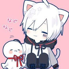 Kawaii Anime, Cute Anime Chibi, Cute Anime Boy, Anime Cat Boy, Neko Boy, Anime Kunst, Anime Art, Naruto Sharingan, Fanart