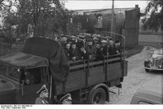 Jews being deported, Poland September 1939.