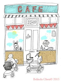 Cafe on Bethnal Green. Bethnal Green, Pencil, Bullet Journal, Sketches, Thoughts, Illustration, Art, Drawings, Art Background