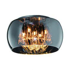 Deckenleuchte Vapore - Lichtfeuer - Metall/Glas - 5-flammig