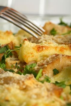 Baked Cod Fish Casserole