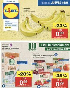 Logos Online, Lidl Online, Banana, Fruit, Food, Brochures, September, Store, Budget