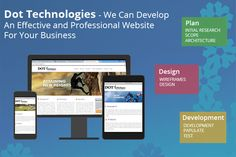 Dot technologies, a web development company provide various services such as website development, website design, digital marketing and content management services to their customers. The company delivers perfect solutions to its client.