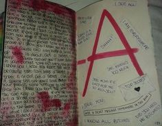 Hide a secret messale somewhere in this book pretty little liars inspiration